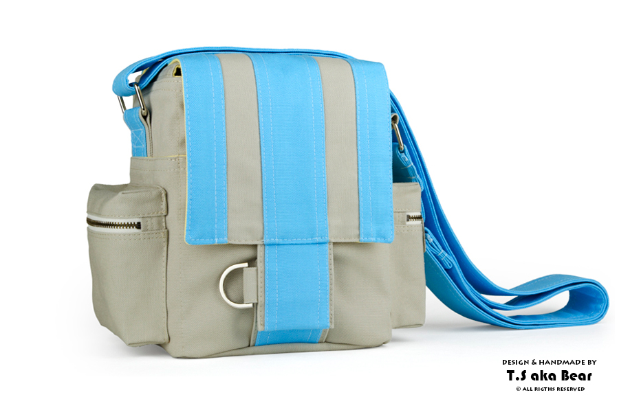 MESSENGER CAMERA BAGS | DESIGN & HANDMADE By T.S aka Bear [ Tiong-seah Yap ] | YEAR 2011-2013 © All rights reserved